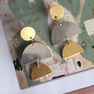 madewell | sculpture statement earrings